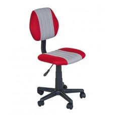 FUN DESK LST4 Detská stolička k písaciemu stolu s nastaviteľnou výškou - sivá / červená Preview