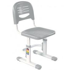 FUN DESK Detská stolička k písaciemu stolu s nastaviteľnou výškou - sivá Preview