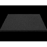 Bezpečnostná gumená podlaha 100 x 100 x 3 cm - čierna