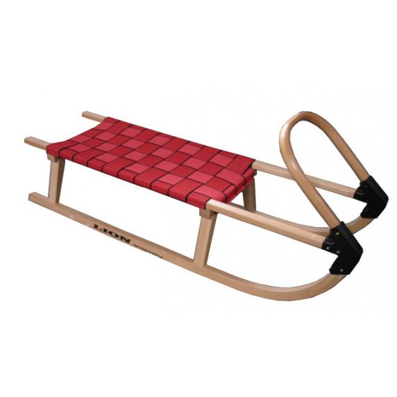 Acra sane drevené 110 cm červené