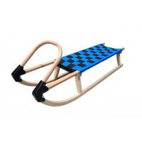 Acra sane drevené 110 cm modrá