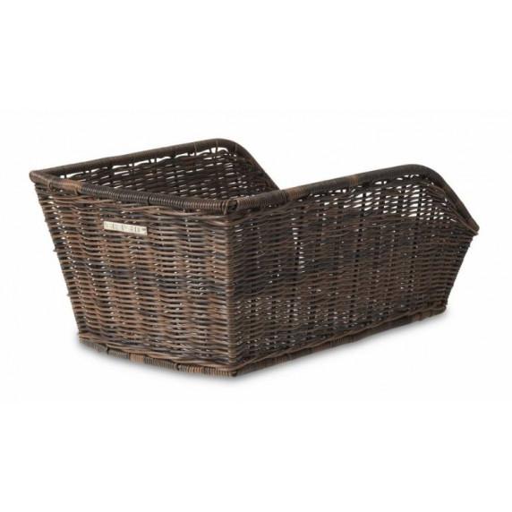 Zadný košík BASIL CENTO RATTAN LOOK - hnedý