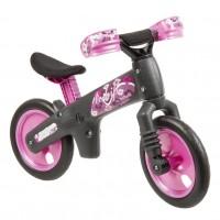 "Bellelli B-BIP Detské cykloodrážadlo 12"" -  čierno-ružové"