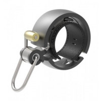 Zvonček na bicykel KNOG OI Luxe - čierny malý