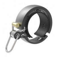 Zvonček na bicykel KNOG OI Luxe - čierny veľký
