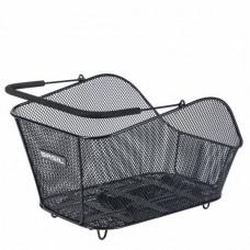 BASIL ICON M zadný drôtený košík so systémom MIK - čierny Preview