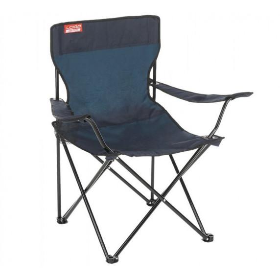 Kempingové skladacie kreslo LOAP Hawaii Chair - tmavomodré