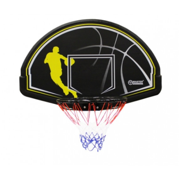 Basketbalový kôš s doskou MASTER 112 x 72 cm