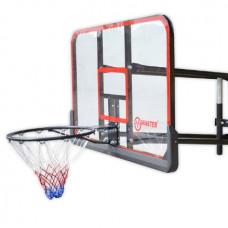 Basketbalová doska MASTER 127 x 71cm s konštrukciou Preview