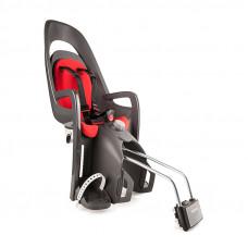 Detská cyklosedačka HAMAX Caress - šedo/červená Preview