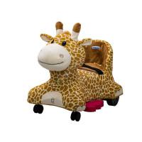 Inlea4Fun elektrické plyšové vozidlo - Žirafa