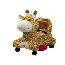 Inlea4Fun elektrické plyšové vozidlo - Žirafa  Preview