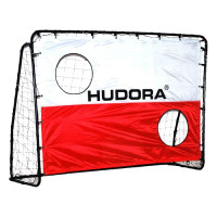 Kovová futbalová bránka s tréningovou sieťou 213x152x76 HUDORA Goal 76298