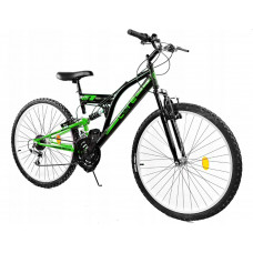 "GOETZE CORE horský bicykel 24"" čierno-zelený Preview"