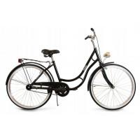"Dámsky bicykel 26"" Goetze BELLA - čierny"