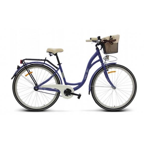 """Dámsky bicykel 26"""" Goetze BUTTERFLY - fialový"""