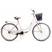 "Dámsky bicykel 26"" Goetze BELLA - biely"