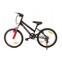 """FUNNY COUNTRY FXC Detský bicykel 20"""" - čierno-ružový"""