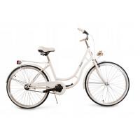 """Dámsky bicykel 28"""" Goetze LAURA - biely"""