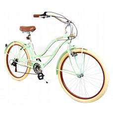 CRUISER 26 dámsky mestský RETRO bicykel 2019 - Pistáciový Preview