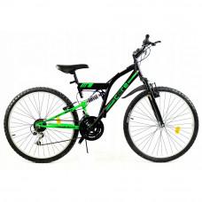 "GOETZE CORE horský bicykel 26"" čierno-zelený Preview"