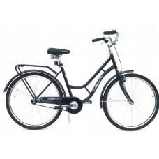 """Hellobikes RETRO 1 Speed 28"""" dámsky mestský bicykel - čierny Preview"""