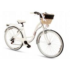 "Hellobikes ALICE Dámsky bicykel 28"" - biely Preview"