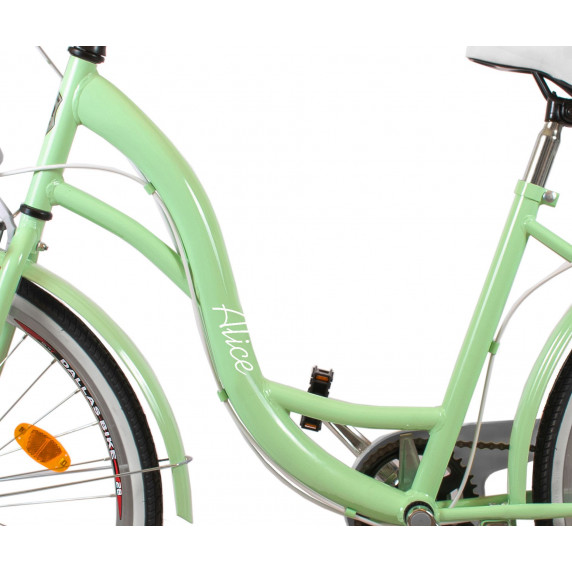 """Dámsky bicykel ALICE  28"""" -  pistáciový"""