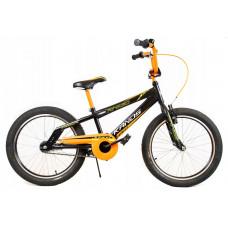 """KANDS Amigo Detský bicykel 20"""" - čierno-oranžový Preview"""