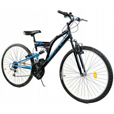 "GOETZE CORE horský bicykel 24"" čierno-modrý Preview"