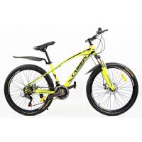 """CARBON NEON horský bicykel 26"""" žltý"""