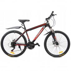 """CARBON NEON horský bicykel 26"""" čierno-červený Preview"""