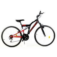 """GOETZE CORE horský bicykel 26"""" čierno-červený"""