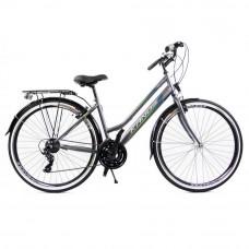 """Kands Galileo Lady dámsky mestský bicykel 28"""" sivo-zelený Preview"""