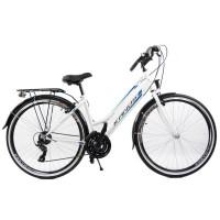 """KANDS LADY dámsky mestský bicykel Galileo 28"""" bielo-modrý"""
