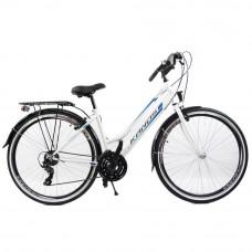 """KANDS LADY dámsky mestský bicykel Galileo 28"""" bielo-modrý Preview"""
