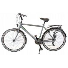 """KANDS Navigator-X Pánsky turistický bicykel ALU 28"""" rám 19"""" 2020 - grafitovo-zelený Preview"""
