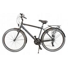 """KANDS Navigator-X Pánsky turistický bicykel ALU 28"""" rám 19"""" 2020 - čierno/mordý Preview"""