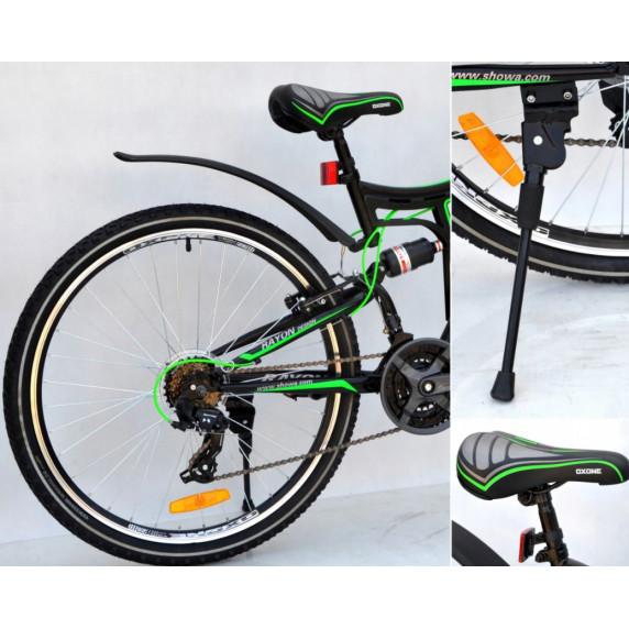"Horský bicykel pánsky Adventure 26"" čierno-zelený"