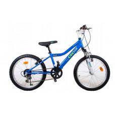 """C-Xtreme Cross B Detský bicykel 20"""" - modrý Preview"""