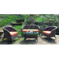 InGarden technorattan set ORANGE