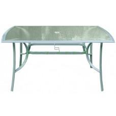 InGarden záhradný stôl 150 x 90 cm strieborný Preview