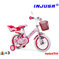 "Injusa HELLO KITTY 2016 detský bicykel 12"" - pink"
