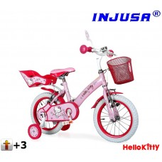 "Injusa HELLO KITTY detský bicykel 12"" - pink 2017 Preview"
