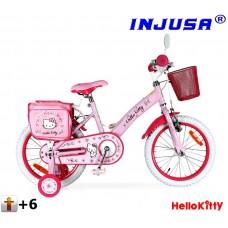 "Detský bicykel Injusa HELLO KITTY 2016 16"" - pink Preview"