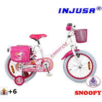 Injusa SNOOPY 16´´ White 2016