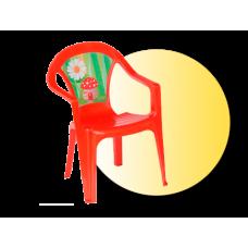 Inlea4Fun umelohmotná stolička pre deti s motívom Preview