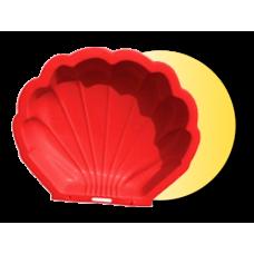 Inlea4Fun pieksovisko Mušla - červené Preview