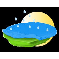 Inlea4Fun pieskovisko Mušla s prikrývkou - zelené Preview