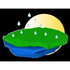 Inlea4Fun pieskovisko Mušla s prikrývkou - modré Preview